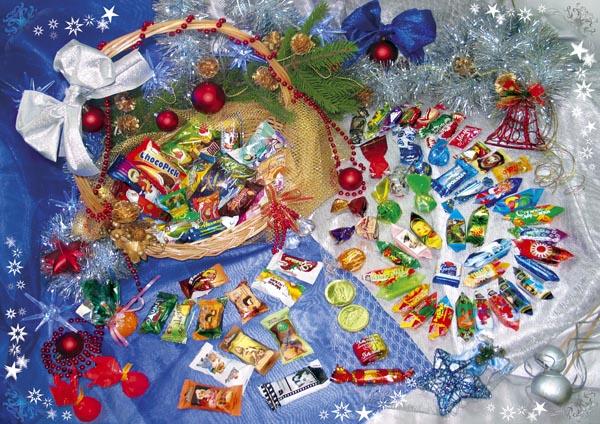 Что положить в новогодний подарок детям 174
